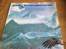 INCANTATION LP - CACHARPAYA  Panpipes Of The Andes-  12 Tracks