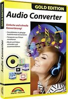 Audio Converter - Gold Edition - Download Version sofort Versand Win 10,8,7