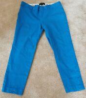 Banana Republic - Blue Sloan Fit Women's Crop Ankle Pant - Size 10