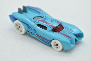 2008 Hot Wheels #12 New Models 12/40 PROTOTYPE H-24 Blue Variation Loose
