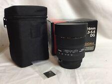 Sigma 12-24mm f/4.5-5.6 EX DG HSM ASP Lens For Canon - 12 Month Warranty!