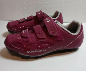 Louis Garneau Women's Multi Air Flex Bike Shoes Indoor Cycling Spin 39 EU 8 US