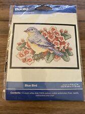 Bucilla Bluebird Counted Cross Stitch Kit 5