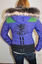 Sportalm Kitzbühel Damen Ski Jacke Nala Blau Grün Größe 36 S Neu mit Etikett