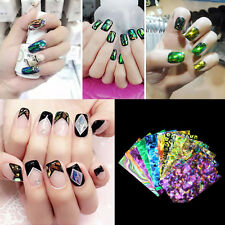 New Nails Stickers Galaxy Foil Transfer Nail Art Decal Beauty DIY Gel Tips Wrap