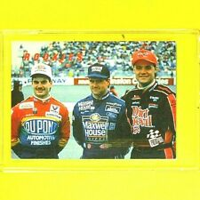 JEFF GORDON / LaBONTE / WALLACE  1993  ROOKIES  PRESS PASS PREVIEWS  #17
