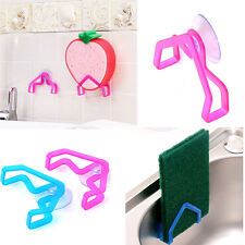 2Pcs Home Accessory Convenient Holder Suction Cup Sink Holder Home Kitchen Tools