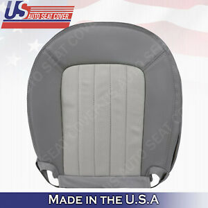 2002 2003 2004 2005 Mercury Mountaineer Driver Bottom Leather Seat Cover GRAY