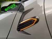 Mini F56 Scuttle indicators Smoked Dynamic side Repeaters Cooper S 2014 -present