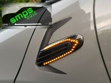 Mini F56 LED Scuttle indicators Smoked Dynamic side Repeaters Cooper S, JCW