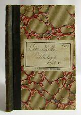 Antique 1900's Manuscript Medical School Journal Ledger Book Pathology Drawings