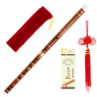 Traditional Handmade Chinese Musical Instrument Bamboo Flute/dizi In D Key