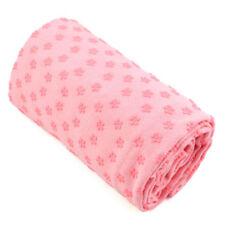 Esterillas y toallas de yoga y pilates rosas