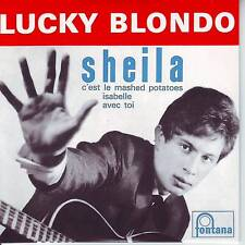 CD EP LUCKY BLONDO **  SHEILA  ** C'EST LE MASHED POTATOES