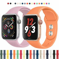 Silikon Sports Band Ersatz Armband Für Apple Watch 5 4 3 2 1 iWatch 40/44/38/42
