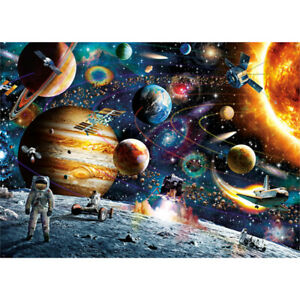 1000Pcs Jigsaw Puzzle Space Travel Children Educational Toys Adult Kid Gifts