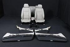 -> BMW 3er E92 Leder Sport Sitze Lederausstattung in JADEGRAU seats <-