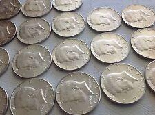 18 Kennedy Half Dollar Coins 90% Silver Very Nice US Coins 1964 50C