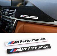 M Performance Emblem Aluminium Selbstklebend Schwarz