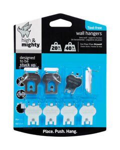 Hillman High & Mighty Picture Hanger 20 lb. 8 pk 515314