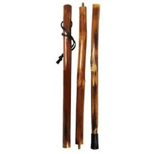 Natural Wooden Hiking Walking Walk Hike Stick Pole Collapsible Storage