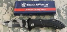 Smith & Wesson S&W CK2CM Homeland Security Folding Knife 440C Blade Aluminum NEW