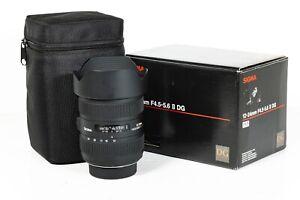 Sigma DG 12-24mm F/4.5-5.6 II HSM DG Full Frame Lens - Nikon mount