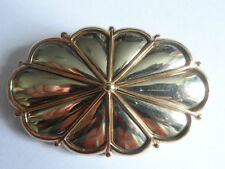Without Stone Yellow Gold Fine Brooches & Pins