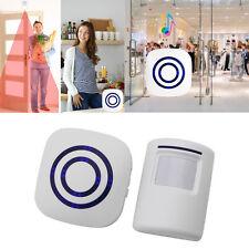 Wireless Infrared Motion Sensor Door Security Bell Alarm Chime Alert Alarm New