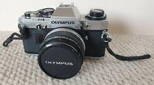 Olympus OM10 35mm SLR Zuiko Auto-W 1:28 Lens Olympus Case VGC