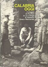 Calabria oggi. Il viaggio di Fanfani in un collage di Gaetano Greco-Naccarato