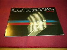 ROLEX booklet Cosmograph Daytona, 08/. 1982, äußerst rar!!