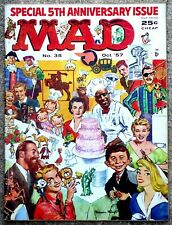 MAD Magazine #35 Oct 1957! FINE++! 6.5! $0.99 Start! A SHARP TIGHT LOVELY Copy!!