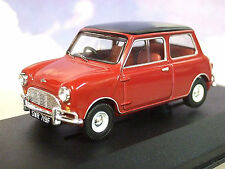 CORGI VANGUARDS 1/43 DIECAST 1967 MINI COOPER S MK1 MKI IN RED & BLACK VA02439