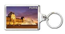 LOUVRE MUSEUM PARIS MOD2 KEYRING SOUVENIR LLAVERO