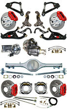 NEW SUSPENSION & WILWOOD BRAKE SET W/ SPINDLES,ARMS,CURRIE REAR END,POSI,676962