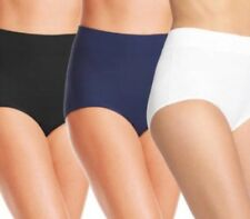 Warner's No Muffin Top Brief Panties, Size 7/L, Lot Of 3, NWT