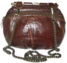JAS M.B. LONDON Cognac Brown Leather  shoulder bag purse crossbody
