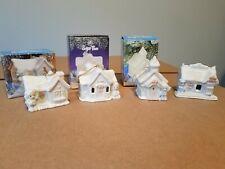 Precious Moments Sugar Town Ornaments (4) #530468, 530441, 530484 184101(no box)