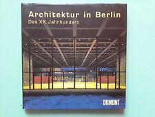 ARCHITEKTUR IN BERLIN DAS XX JAHRHUNDERT ARCHITECTURE  + PARIS POSTER GUIDE Eng
