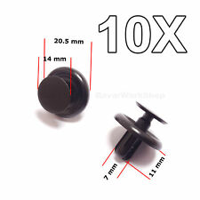 10X Engine Shield Cover, Wheel Arch Inner Wing Lining clips for Toyota, Lexus