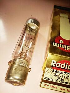 Projektorlampe Radium Nr 114 C 375W   P28 neu Lagerware
