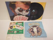 OUTLAWS Playin' To Win Vintage 1977 T-Shirt with Vinyl LP Record & Order Sheet