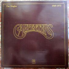 CARPENTERS - THE SINGLES LP VINILO 1977 A&M