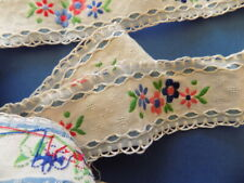 Beautiful Vintage  Embroidered  Strip (Ribbon) №3