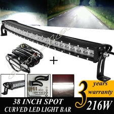 40 inch LED Light Bar Curved Road Truck Boat for Ford Jeep SUV 4WD UTE 4x4 38 42