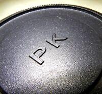 """PK"" Rear Lens Cap twist on for Pentax K M PK KA KR lenses     Free Shipping USA"