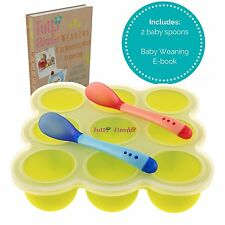 TUTTI BIMBI Baby Food & Breastmilk Storage - Mom approved Freezer Tray