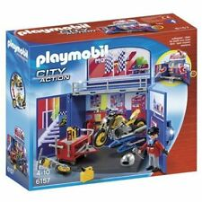 Playmobil City Action cofre taller motos Construcción a partir de 4