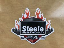 Steele Rubber Products Sticker Decal Off Road Racing Tool Box 6